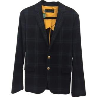 DSQUARED2 Green Wool Jackets