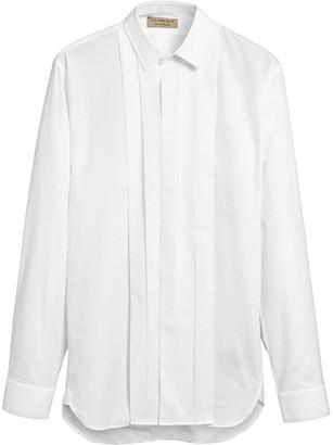 Burberry Modern Fit Cotton Poplin Dress Shirt