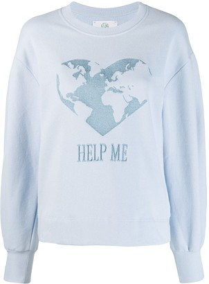 Alberta Ferretti Help Me sweatshirt