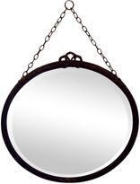 One Kings Lane Vintage Antique Round Beveled Mirror
