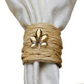 Autumn Wrapped Napkin Rings (Set of 4)