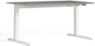 Pottery Barn Humanscale Float Standing Desk - White Base