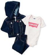 Levi's Newborn/Infant Girls) 3-Piece Denim Box Set