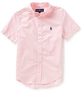 Ralph Lauren Little Boys 5-7 Short-Sleeve Twill Shirt