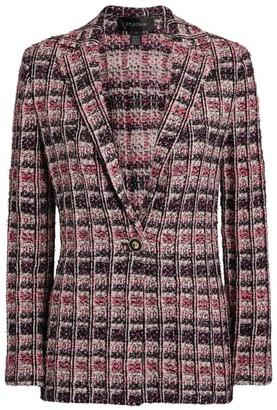 St. John Camellia Tweed Knit Jacket