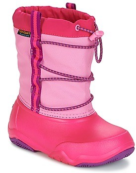 Crocs Swiftwater waterproof boot girls's Snow boots in Pink
