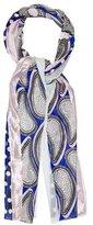 Diane von Furstenberg Sheer Silk Scarf
