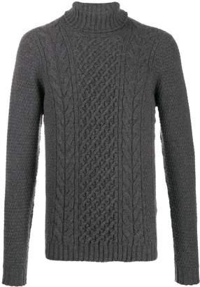 Drumohr knitted roll neck jumper