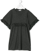 Chloé Kids fringed detail dress