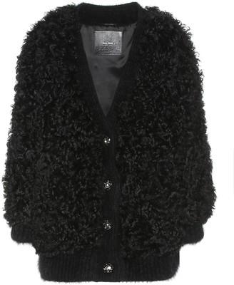Miu Miu Shearling jacket