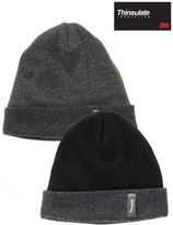 Next Black/grey Thinsulate Hats Two Pack