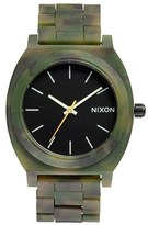 Nixon 'The Time Teller' Bracelet Watch, 37mm