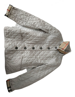 Burberry Beige Polyester Jackets