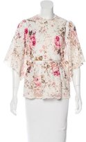 Zimmermann Embroidered Floral Top