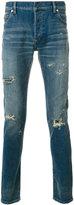 Balmain stone washed jeans - men - Cotton/Polyurethane - 29