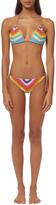 Mara Hoffman Crochet Triangle Bikini Top