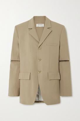 GAUCHERE Priya Wool-blend Blazer - Beige