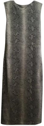 John Galliano Silver Dress for Women Vintage