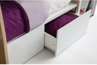 Julian Bowen Eclipse Bunk Bed - Scandinavian Oak Effect/White