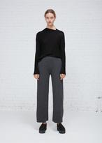 Oyuna Graphite Cashmere Wool Trouser