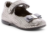 Naturino Rettile Reptile Embossed Mary Jane Flat (Toddler)