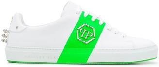 Philipp Plein Colour-Block Logo Sneakers