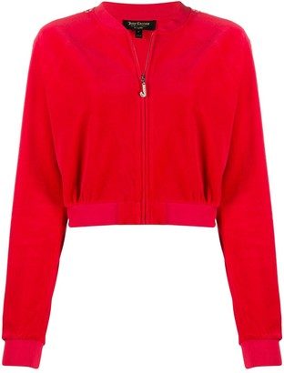 Juicy Couture Hooded Embellished Track Jacket