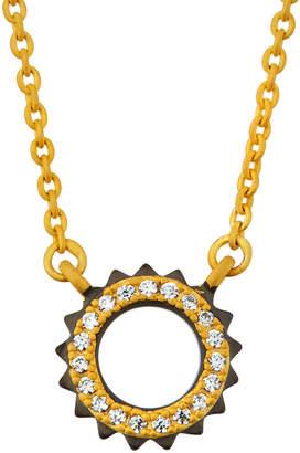 Freida Rothman Crown Pendant Necklace