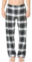 Sleepy Jones Marcel Flannel Stewart Plaid Pajama Pants