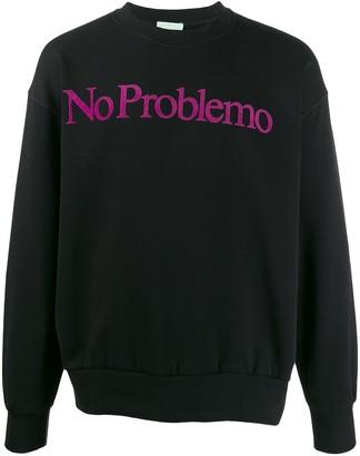 Aries 'no problemo' print sweatshirt