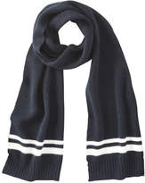 Joe Fresh Men's Stripe Scarf, JF Midnight Blue (Size O/S)