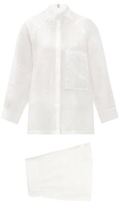 Lunya - Resort Twill Pyjamas - White