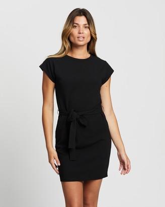 Atmos & Here Atmos&Here - Women's Black Mini Dresses - Valentina Mini Dress - Size 12 at The Iconic