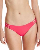 L-Space L Space Low-Down Strappy Swim Bottom, Hot Cherry
