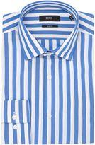 HUGO BOSS Men's Slim Wide Stripe Shirt