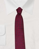 Le Château Silk Dot Print Slim Tie