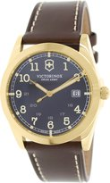 Victorinox Men's Infantry 241645 Leather Swiss Quartz Watch