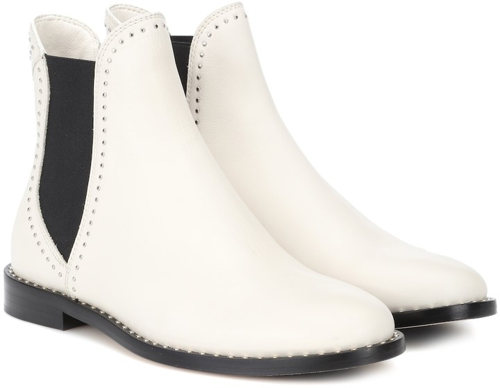Jimmy Choo Merril leather ankle boots