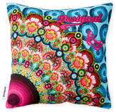 "Desigual 12"" x 12"" Printed Accent Pillow"