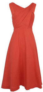 Emily And Fin Seline Dress Cadmium Red - 10