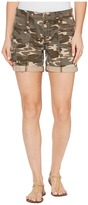 Jag Jeans Carmine Relaxed Utility Shorts in Camo Printed Twill Women's Shorts