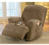 Sure Fit Stretch Pique Recliner Slipcover, Medium, Garnet [Misc.]