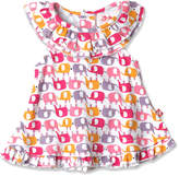 Zutano Girls' Ellas Elephants Ruffle Sunshine Top