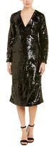 Ganni Sonora Wrap Dress