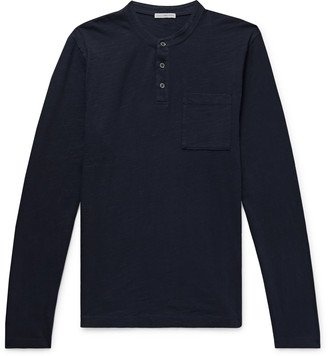 James Perse Zimbabwe Cotton-Jersey Henley T-Shirt