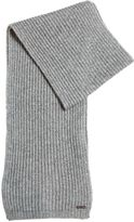 DSQUARED2 Knitted Wool & Cashmere Blend Scarf