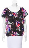 Yumi Kim Floral Scoop Neck Top
