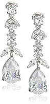 Nina Bridal Necklace Set Marquise Shape Earrings
