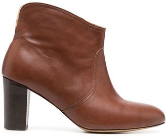 Tila March Neal cowboy ankle boots