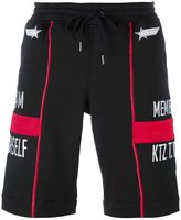 Kokon To Zai drawstring waist shorts